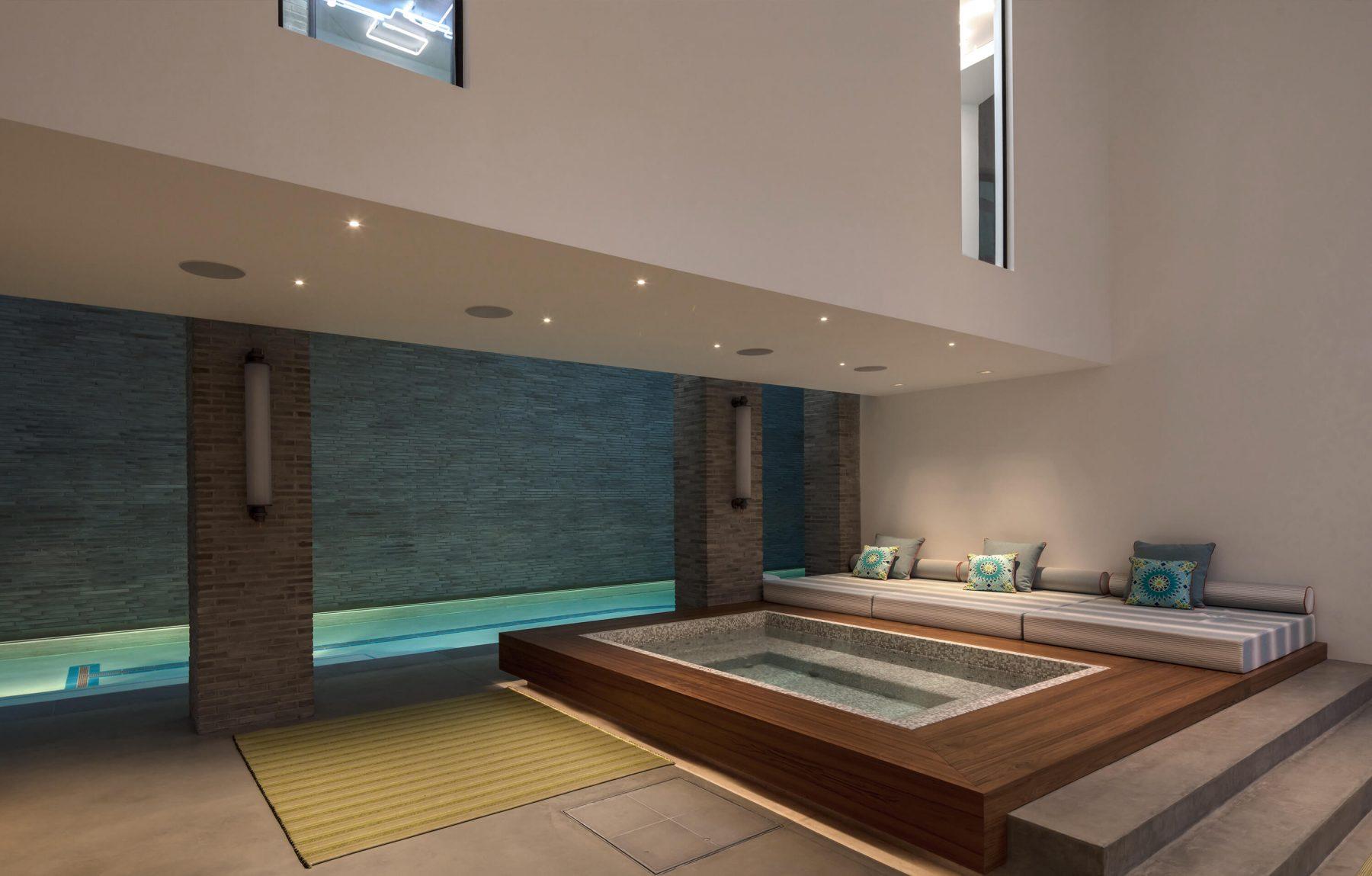 The Grand Luxury Basement Wilkinson Beven Interior Design