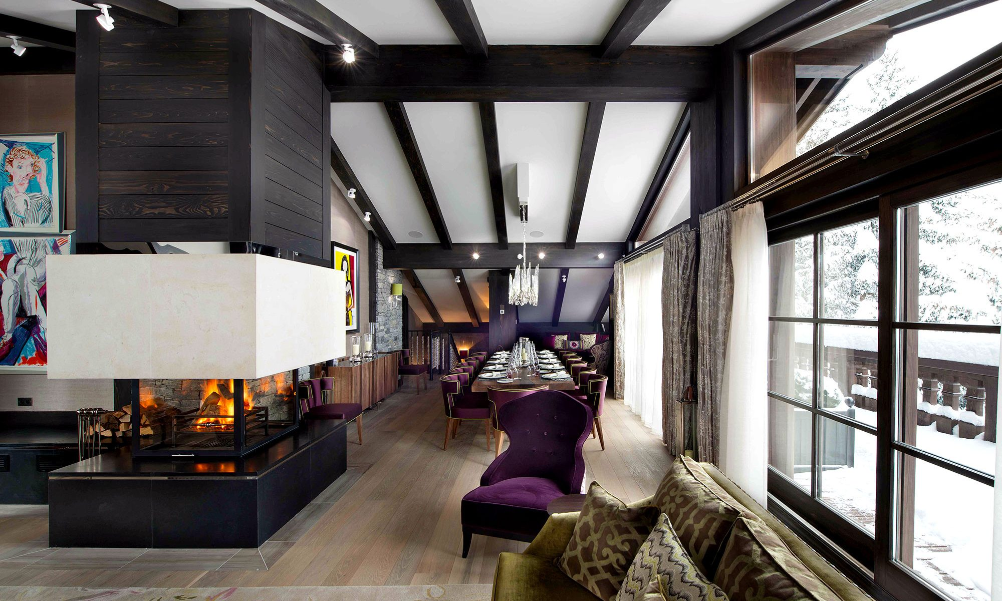 The best ski chalet interiors to inspire your apres ski style